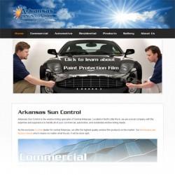 Arkansas Sun Control website