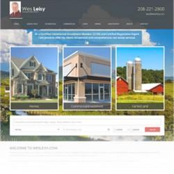 WesLeisy.com redesign