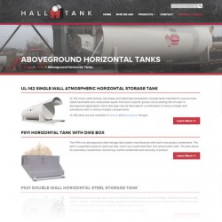 Hall Tank website