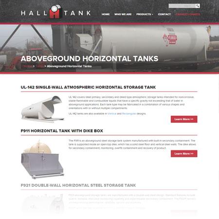 Hall Tank website