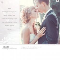 Idaho Wedding Celebrations website