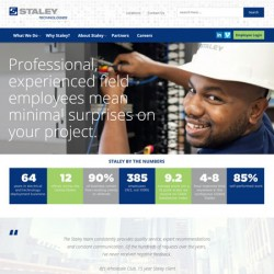 Staley Technology site redesign project