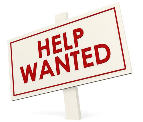 Help wanted - we're hiring