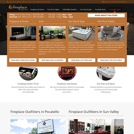 Fireplace Outfitters Redesign - Studio 305