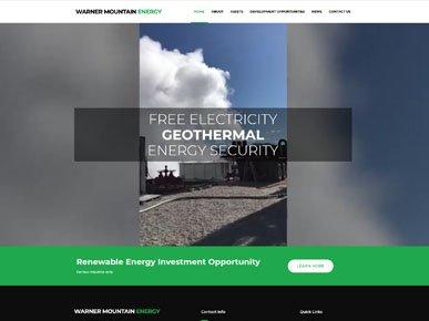 Warner Mountain Energy